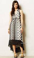 NEW Anthropologie Channeled Dot Dress by Maeve  Size 0-6-8-10-12P-14