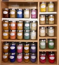 $SAVE$ ~ Lot of 2 ~ Candy Shoppe Scents ~ Soy Wax Candles ~ 8oz Jelly Jar