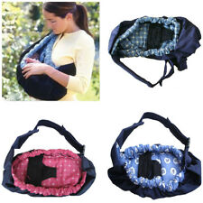 Adjustable Newborn Baby Sling Carrier Ring Wrap Soft Nursing Pouch Front Infant