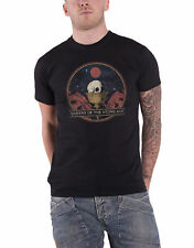 Queens of the Stone Age T Shirt Chalice band logo new Official Mens Black