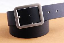3 Color Simple Pin Buckle Pu Leather Casual Wear Waist Belt For Men