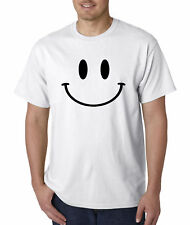 New Way 849 - Unisex T-Shirt Smiley Face Emoticon Emoji Happy Smile