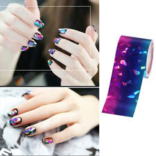 Gradient Colorful Starry Sky Nail Foils Manicure Nail Art Transfer Sticker