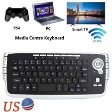 Mini 2.4Ghz Wireless Keyboard Touchpad With Mouse For PC PS4 PS3 Smart TV