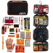 Medical Emergency Survival Bag Medical Supplies First Aid Kit Car Camping Hiking