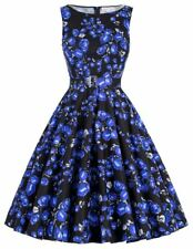New Fashion Collection Floral Printed Knee Length Dress For Women W583