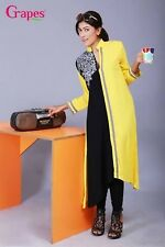 2 Piece Pakistani Ready made Dress Designer Suits Stitched Shalwar Kameez Kurta