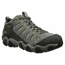Oboz Sawtooth Pewter Mens Nubuck Hiking Lace-up Low-Profile Trail Shoes