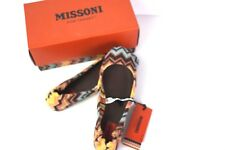 MISSONI FOR TARGET GIRLS ZIG ZAG PASSIONE CHEVRON BALLET FLATS DRESS SHOES 1 2 3
