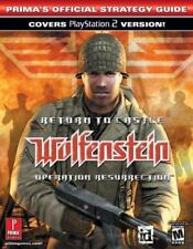 Return to Castle Wolfenstein : Operation Resurrection (Prima Offical Guide) PS 2