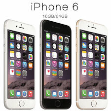 Apple iPhone 6 - 16GB 64GB 128GB - Gold/Silver/Space Grey - (UNLOCKED/SIM FREE)@