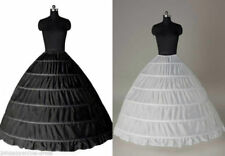3/6 HOOP Petticoat Wedding Ball Gown Crinoline Bridal Dress Skirt Underskirt