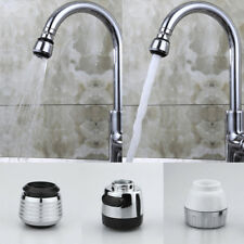 Kitchen Faucet Filter 360 Degree Aerator Water Bubbler Head Adapter Saving Tap