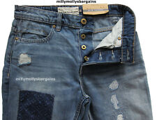 New Mens Blue Slim Tapered NEXT Jeans Size 36 34 32 30 28 Regular Short RRP £45