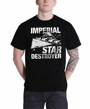Star Wars T Shirt Imperial Star Destroyer new Official Mens Black