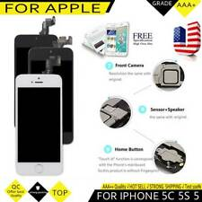 For iPhone 5S 5C 5G 5 SE LCD Display Touch Screen Digitizer Replacement Button