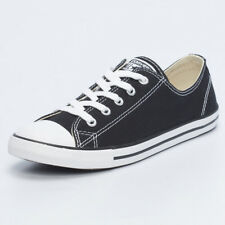 Converse Womens Dainty Lo-cut Shoes in Black