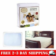 Queen Size Mattress Bed Cover for topper Protector Pad Cotton Waterproof