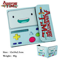 Adventure Time PU Wallet Pocket Coin Purse Bifold Money Clip Card Holder Cosplay