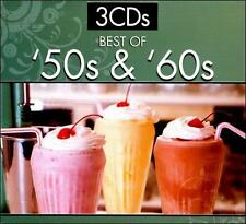 Various (Original Artist re-recording) : BEST OF 50S & 60S (3 CD Set) CD