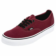 Vans Womens Authentic Shoes in Burgundy