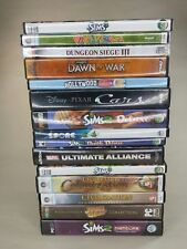 Lot-PC-CD-ROM-Video-Games-Pick-and-Choose-Free-Shipping