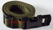 Military 2 Side Release Compression Straps 20 mm Bergan Utility Belts UK MADE