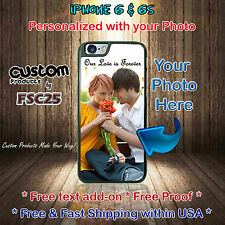 Custom Phone case personalize with your photo selfie art for iPhone 6 & 6s gift