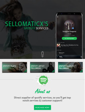 5000+ Spotify Plays! Boost your song's rank with HQ spotify Plays & Followers!