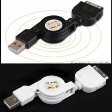 s-Retractable USB Data Sync&Charger Cable for iPod iPhone 4S 4 3GS Touch nano