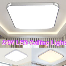 24W Square Modern LED Ceiling Down Light Bedroom Lamp Surface Mount Fixture