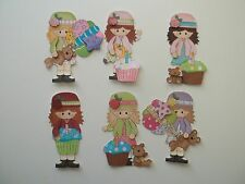 3D - U Pick - BD6 Birthday Boy Girl Cake Balloons Scrapbook Card Embellishment