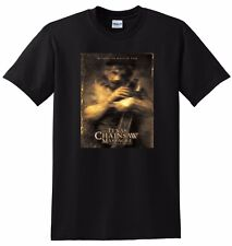 TEXAS CHAINSAW MASSACRE T SHIRT the beginning poster SMALL MEDIUM LARGE OR XL