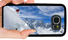SKI SKIING SNOW PHONE CASE COVER FOR SAMSUNG NOTE & GALAXY S3 S4 S5 S6 S7 S8 S9