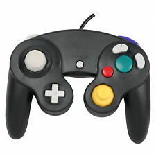 Wired Shock Video Game Controller Pad for Nintendo GameCube GC&Wii Black Gift