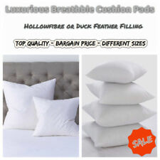 Top Quality CUSHION PAD HollowFibre or Duck Feathers INNER INSERT FILLER SCATTER
