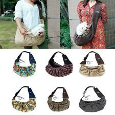 Pets Sling Carrier Bag Travel Pouch For Small Pet Dog Cat Shoulder Carry Tote