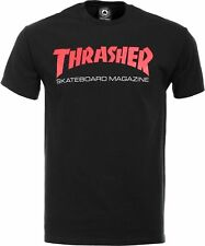 NWT Authentic Thrasher Skate Mag Two Tone Black/Red Tee