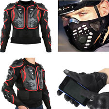 Motorcycle Racing Full Body/Knee Armor Spine Chest Protective Jacket AU RM6