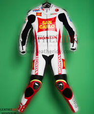 Leather Motorbike Racing Suit, CE Armored Suit, 1/2 Piece Suit - All Sizes