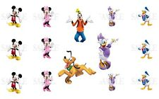Mickey Mouse & Friends Pre-Cut 1 Inch Bottle Cap Images (6 Options)