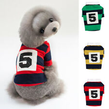Baoblaze Sports Theme Dog Summer Outdoor Hoodie Warm Jumpsuit Dog Clothing Shoes