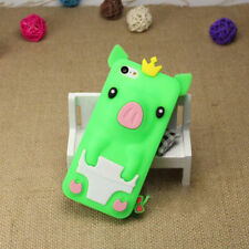 1Pcs Crown Pig 4.0 inch iPhone 5/5S/SE Silicone Shell Phone Case Phone Bag Cute
