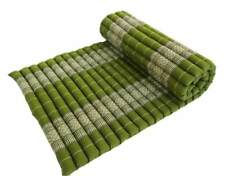 Thai Kapok Fill Daybed Roll Up Mattress Camping Guest Yoga Meditation Cushion