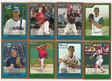 2006 Bowman Draft Picks GOLD Parallel Complete Team Set 18 Available Rookie RC