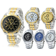 Mens Wrist Watches Army Quartz Military  Stainless Steel Fashion Sports Watch