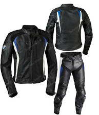 BMW Motorcycle Sports Leather Suit Motorbike Racing Leather Biker Suit Armors