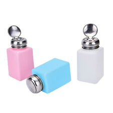 Empty Pump Dispenser Container Cleaner Nail Polish Removal Liquid 200mL Bottle