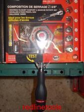 "3/8"" DR. FACOM TWISTER RATCHET J.360 WITH 6 SOCKETS & EXTENSION BAR ~ J.360PACK~"