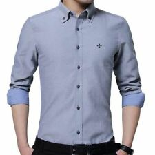 New Fashion Long Sleeve Slim Fit Casual Wear Shirt For Men